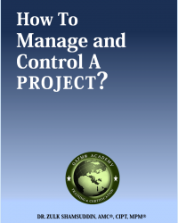 How to Manage and Control a Project